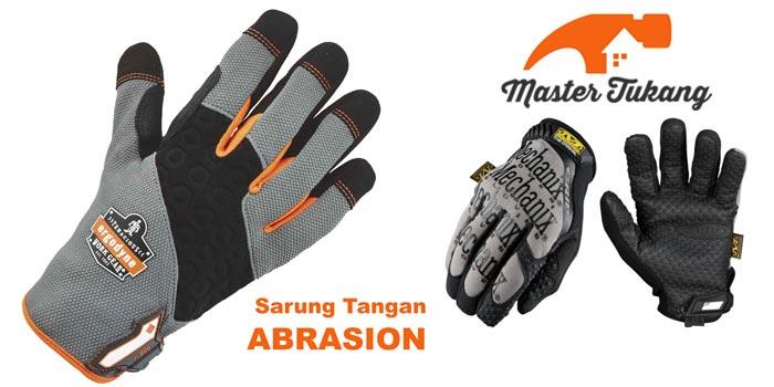 sarung tangan abrasion