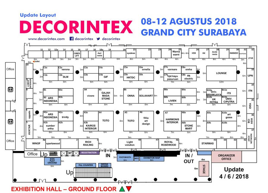 floorplan decorintex 2018