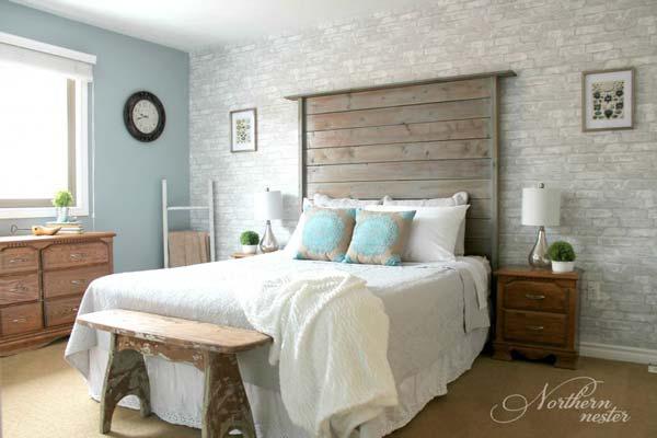 desain kamar tidur retro